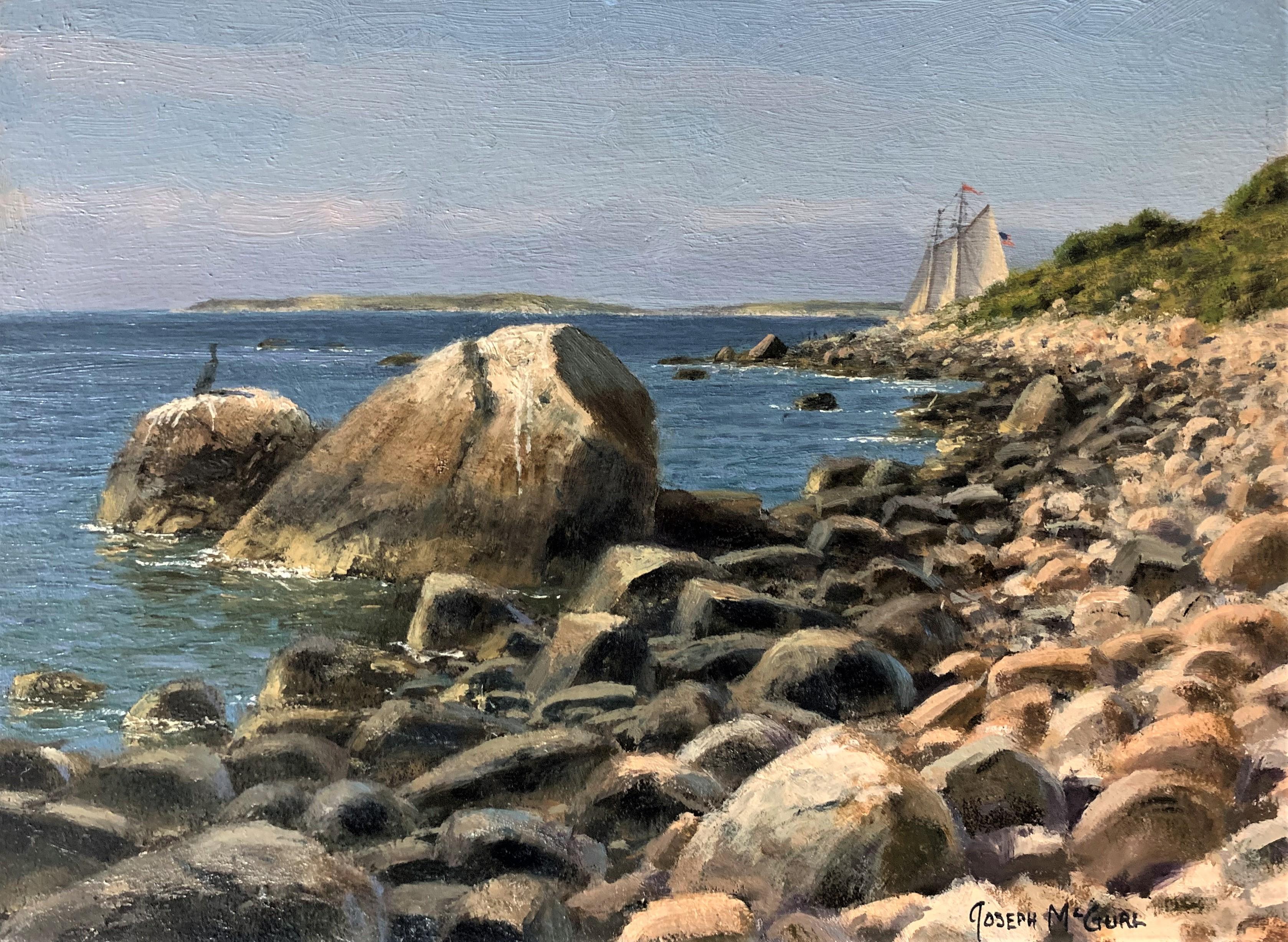 Field Study, Rocky Shoreline on the Elizabeth Islands