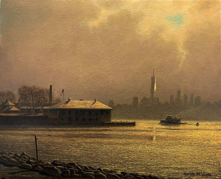 Joseph McGurl Landscape Painting - Transitions