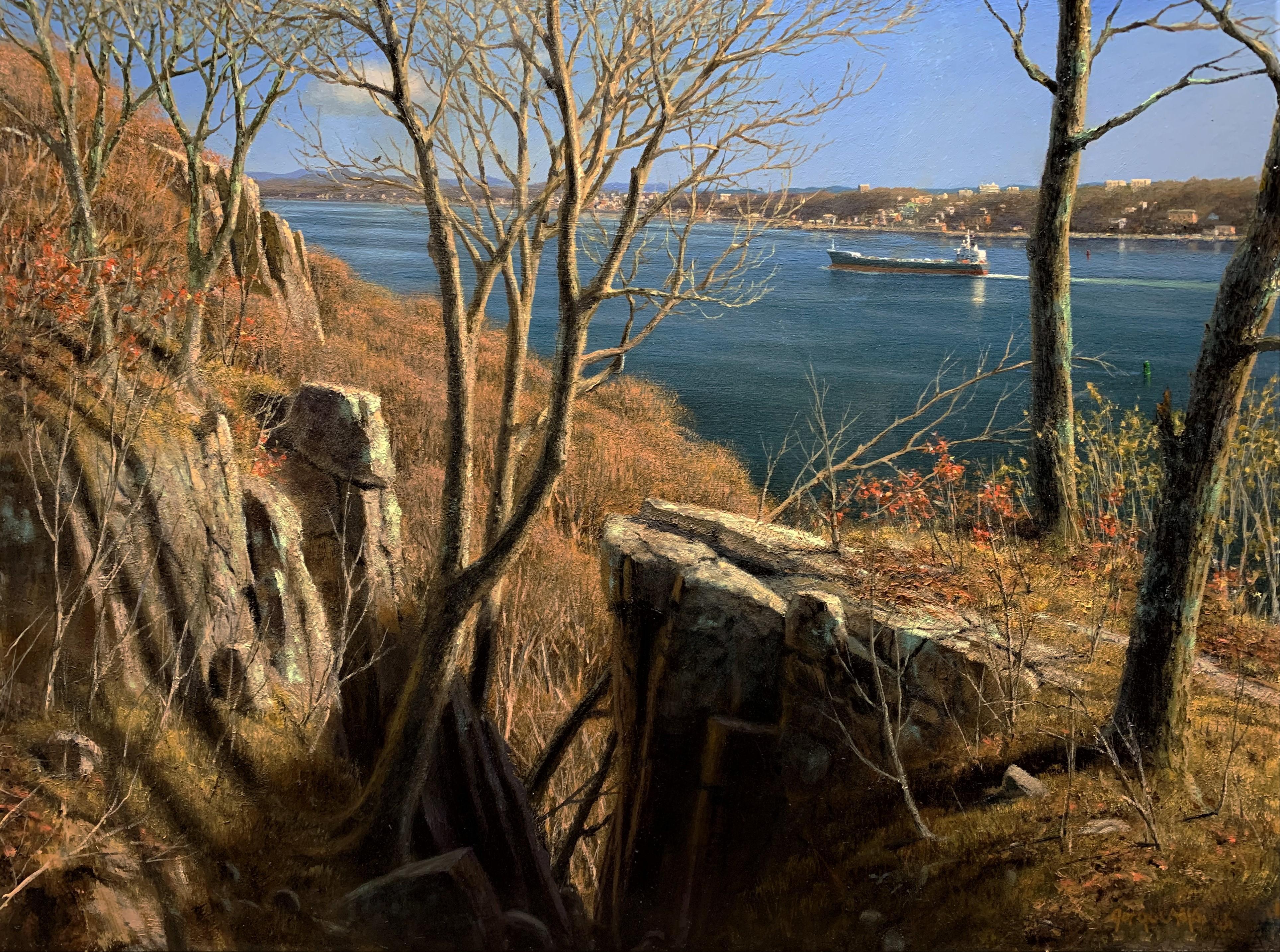 Warm Winter Sun, The Hudson River