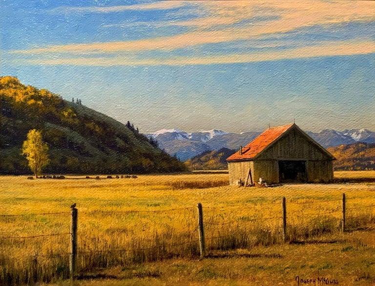 Joseph McGurl Landscape Painting - Western Architecture