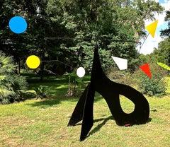 Raven Stabile Large Garden Sculpture
