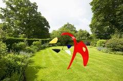 Red Anteater Garden Sculpture