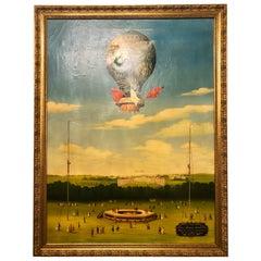 Joseph-Michel Montgolfier and Jacques-Étienne Montgolfier Oil Painting