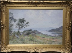 Scottish Coastal View Impressionist Perthshire landscape Victorian oil painting