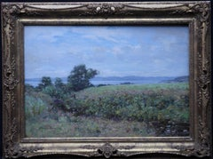 Scottish Coastal View Perthshire - Scottish 19th Century landscape oil painting