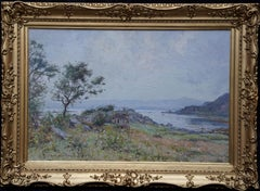 Scottish Coastal View Victorian Impressionist Perthshire landscape oil painting