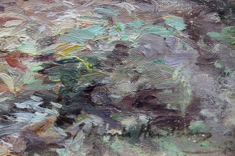 Tabert Castle Loch Fyne Scotland - Scottish Impressionist art oil painting For Sale 3