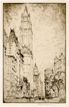 The Woolworth Building — early 20th-Century New York City
