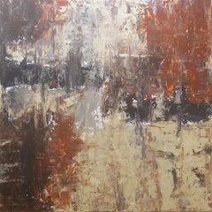 City Nights, Painting, Acrylic on Canvas