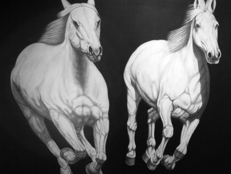 Joseph Piccillo Animal Painting - No. 8
