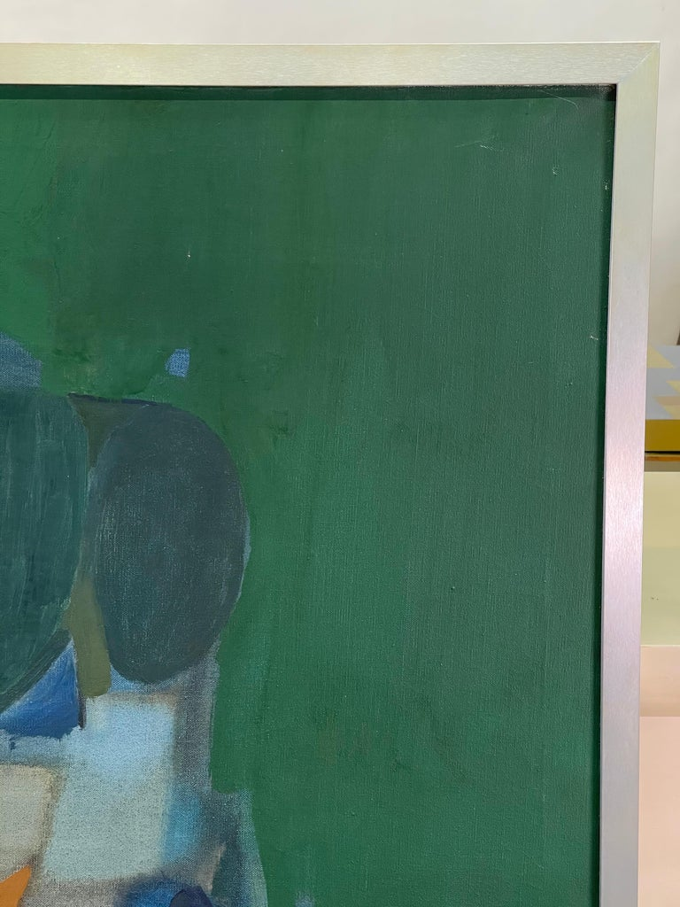 Joseph Raffaele, Abstract Oil on Canvas, 1958 For Sale 4