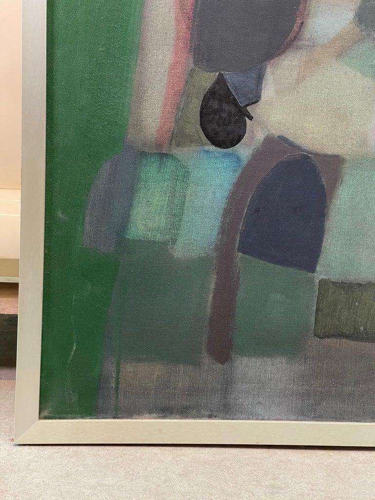 Joseph Raffaele, Abstract Oil on Canvas, 1958 For Sale 5
