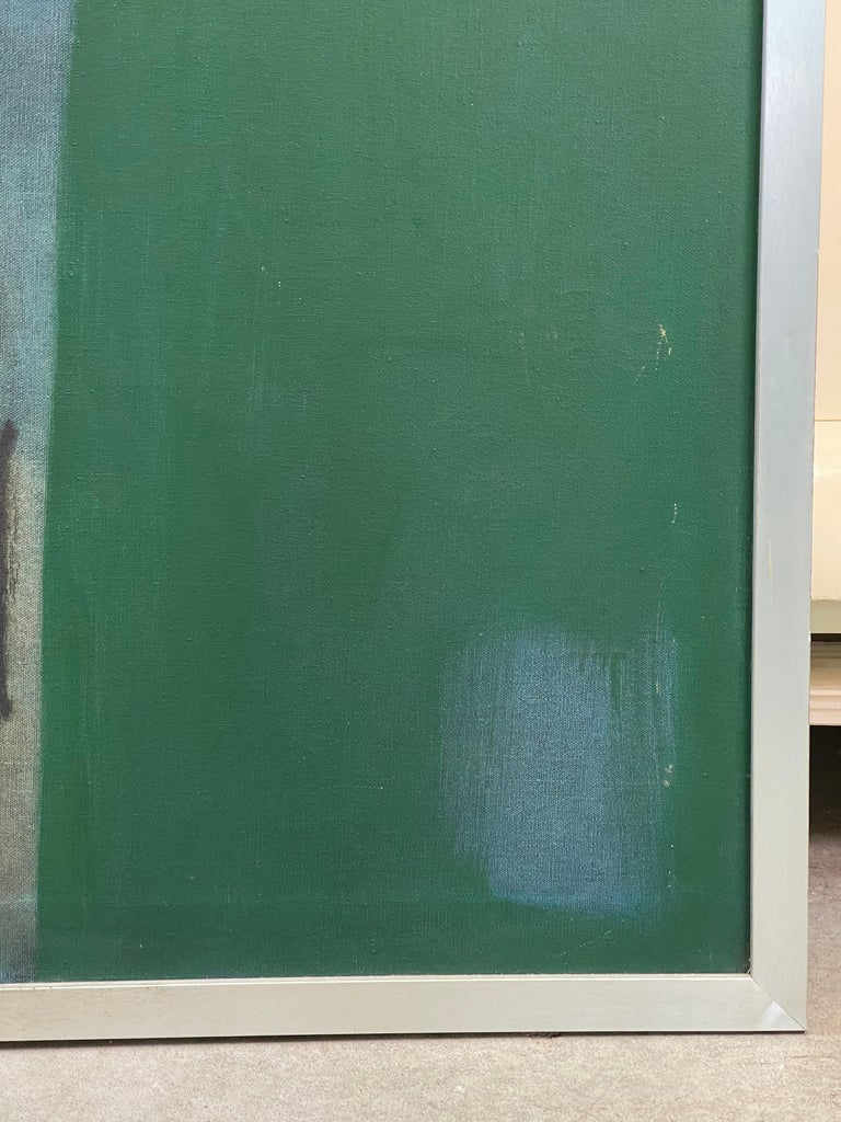 Joseph Raffaele, Abstract Oil on Canvas, 1958 For Sale 6