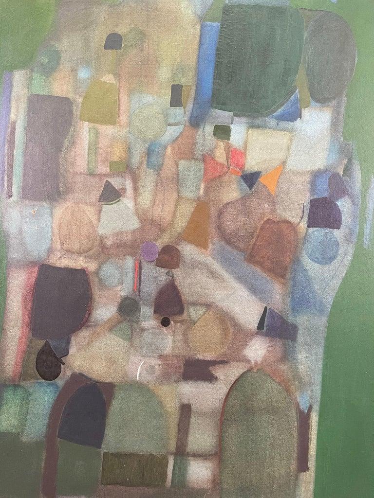Joseph Raffaele, Abstract Oil on Canvas, 1958 For Sale 7
