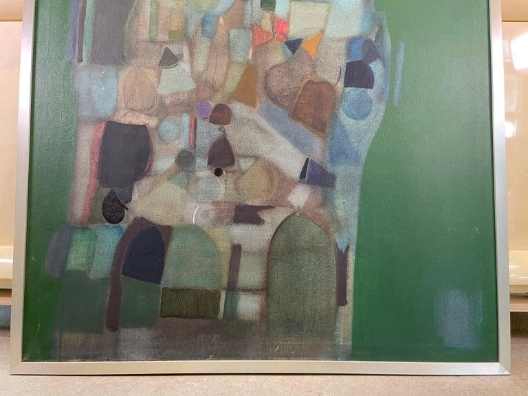 Joseph Raffaele, Abstract Oil on Canvas, 1958 For Sale 8