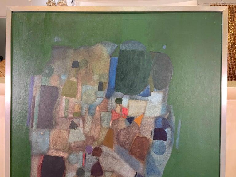 Joseph Raffaele, Abstract Oil on Canvas, 1958 For Sale 9
