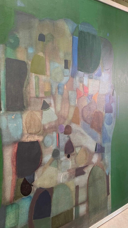 Joseph Raffaele, Abstract Oil on Canvas, 1958 For Sale 10