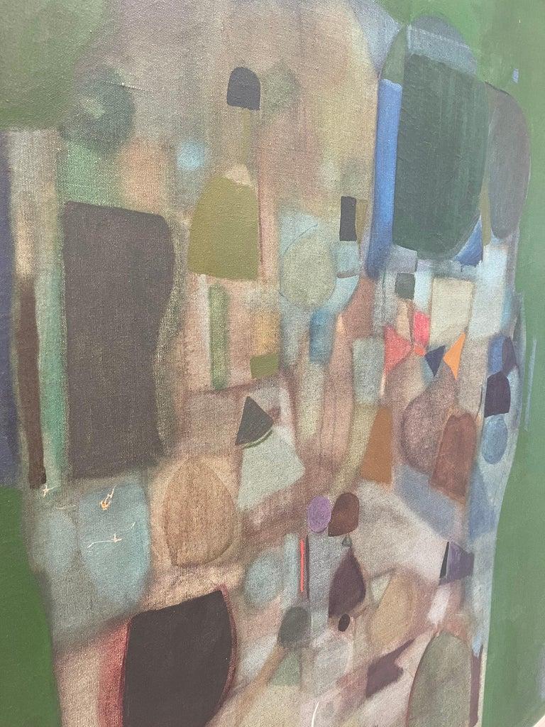 Joseph Raffaele, Abstract Oil on Canvas, 1958 For Sale 13