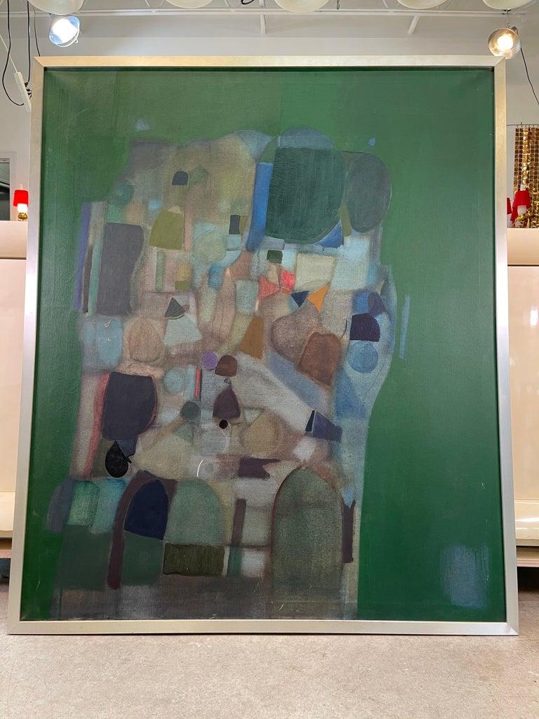 Joseph Raffaele, Abstract Oil on Canvas, 1958 For Sale 2