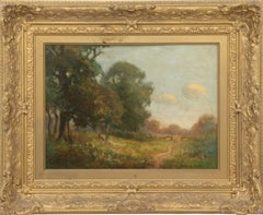 """Summer Landscape,"" Joseph DeCamp, Boston Ten Impressionists"