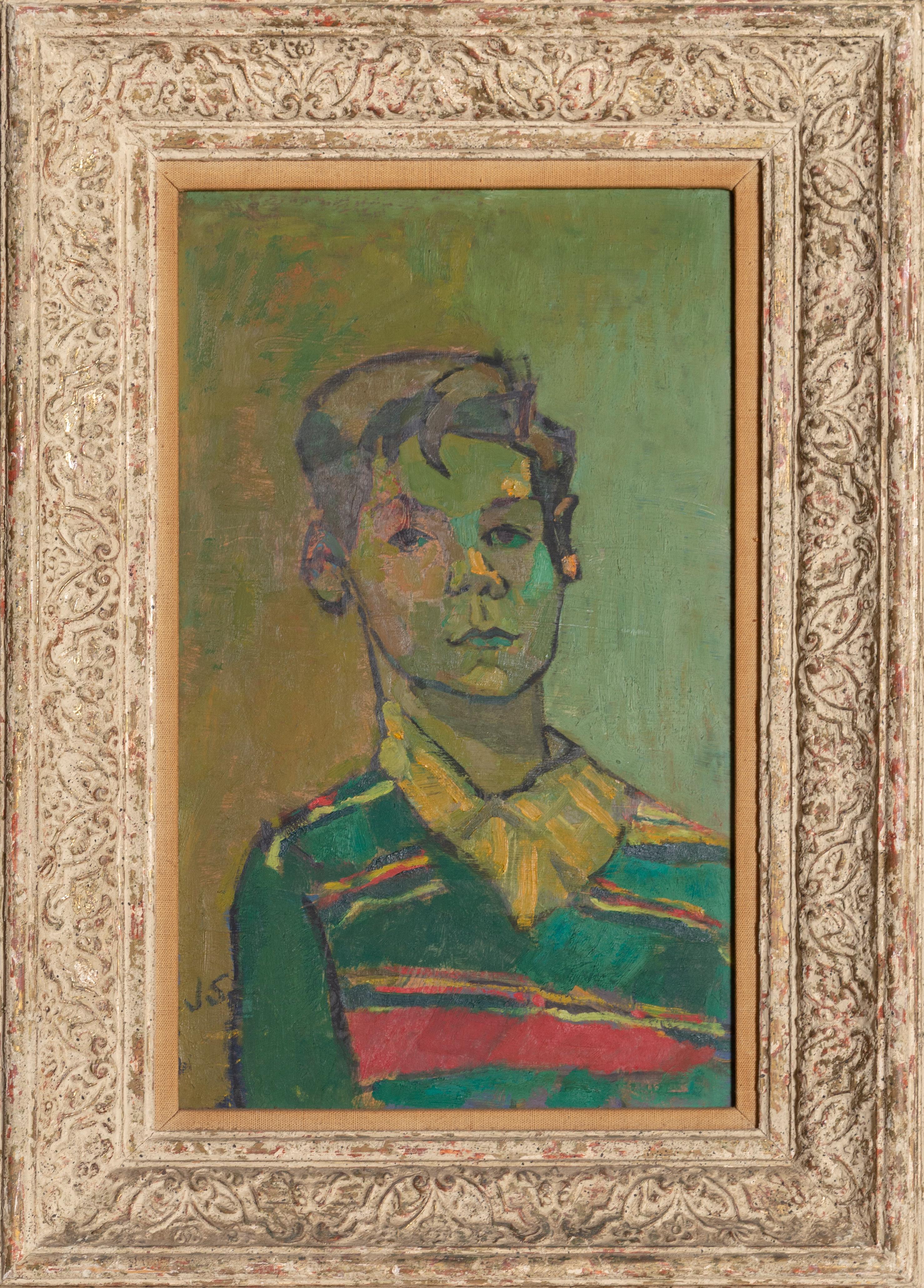 John Begg Jr., Expressionist Portrait by Joseph Solman