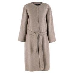 Joseph Taupe Wool blend Coat 38 FR