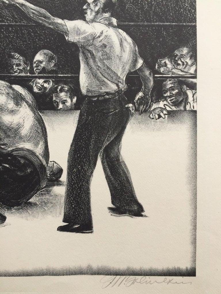 AT CHICAGO - American Modern Print by Joseph W. Golinkin