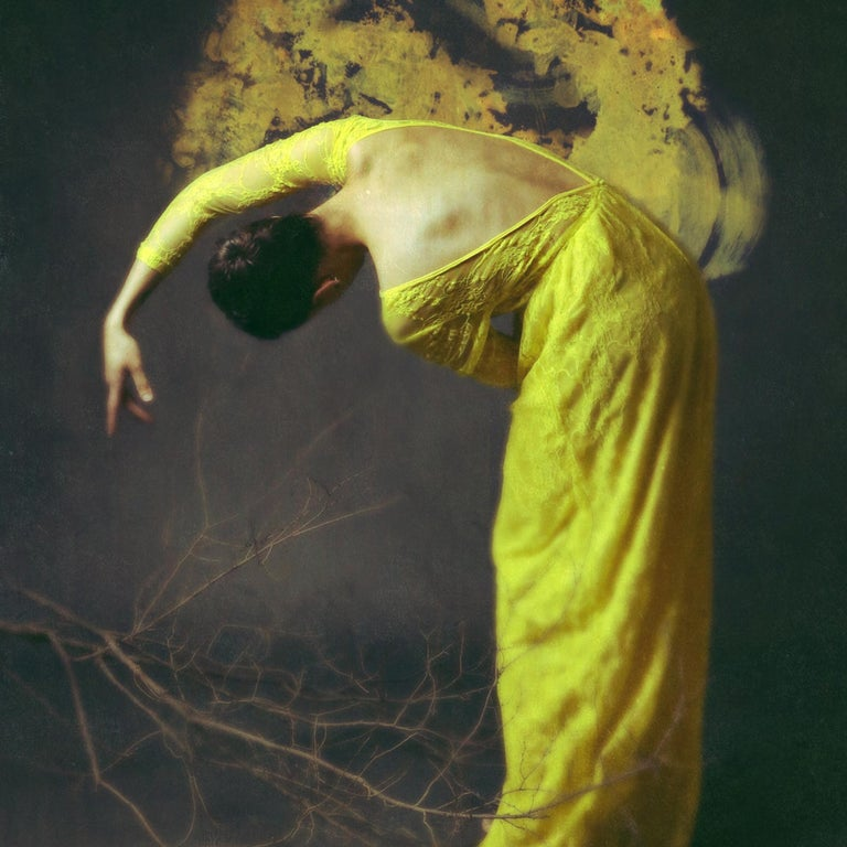 Desolate Amber by Jo Cardin - Contemporary Fashion photography portrait - Photograph by Josephine Cardin