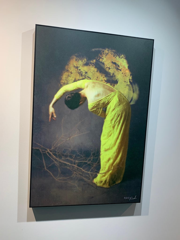Artist: Josephine Cardin  Medium: Photography on board Framed in black wood frame.  Size: 70 x 50 cm  Limited edition of 30  ____________________________________________________________________________________________  Cardin uses a mix between