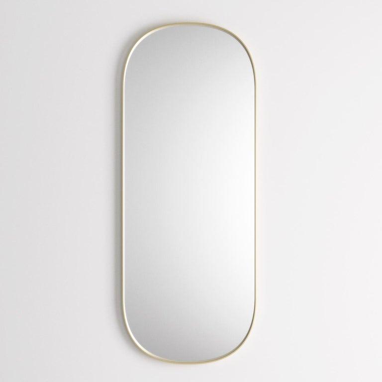 Hand-Crafted Josephine Rectangular Mirror For Sale