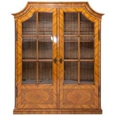 Josephine Walnut Bookcase, Austria, circa 1780