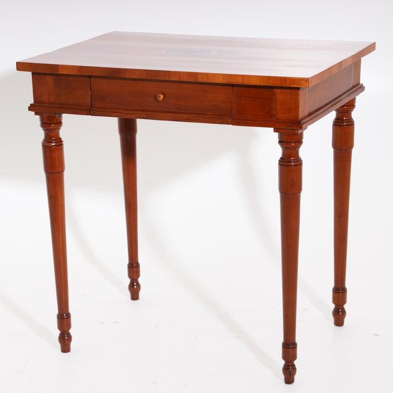 Louis XVI Josephinian Side Cherrywood Table, Austria, circa 1800 For Sale