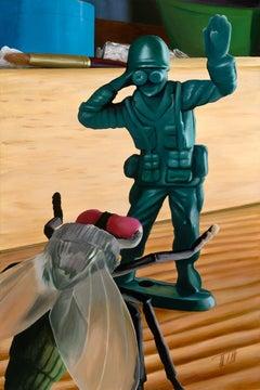 """Swat"", Acrylic Painting"