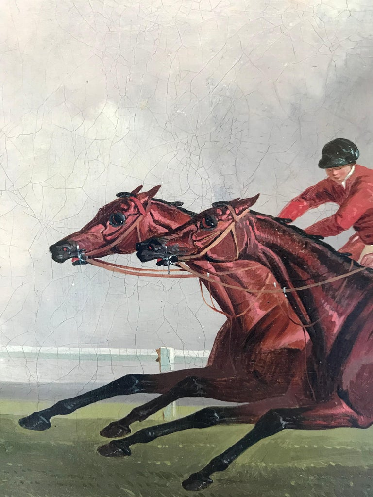 Joshua Dalby - Horse racing, St. Leger, Doncaster For Sale 2