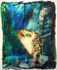 Joshua Flint, The Glare of the Sun, surrealist figurative oil painting, 2020