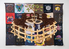 Textile Tapestry Sculpture: 'The Mammoth Tapestry'
