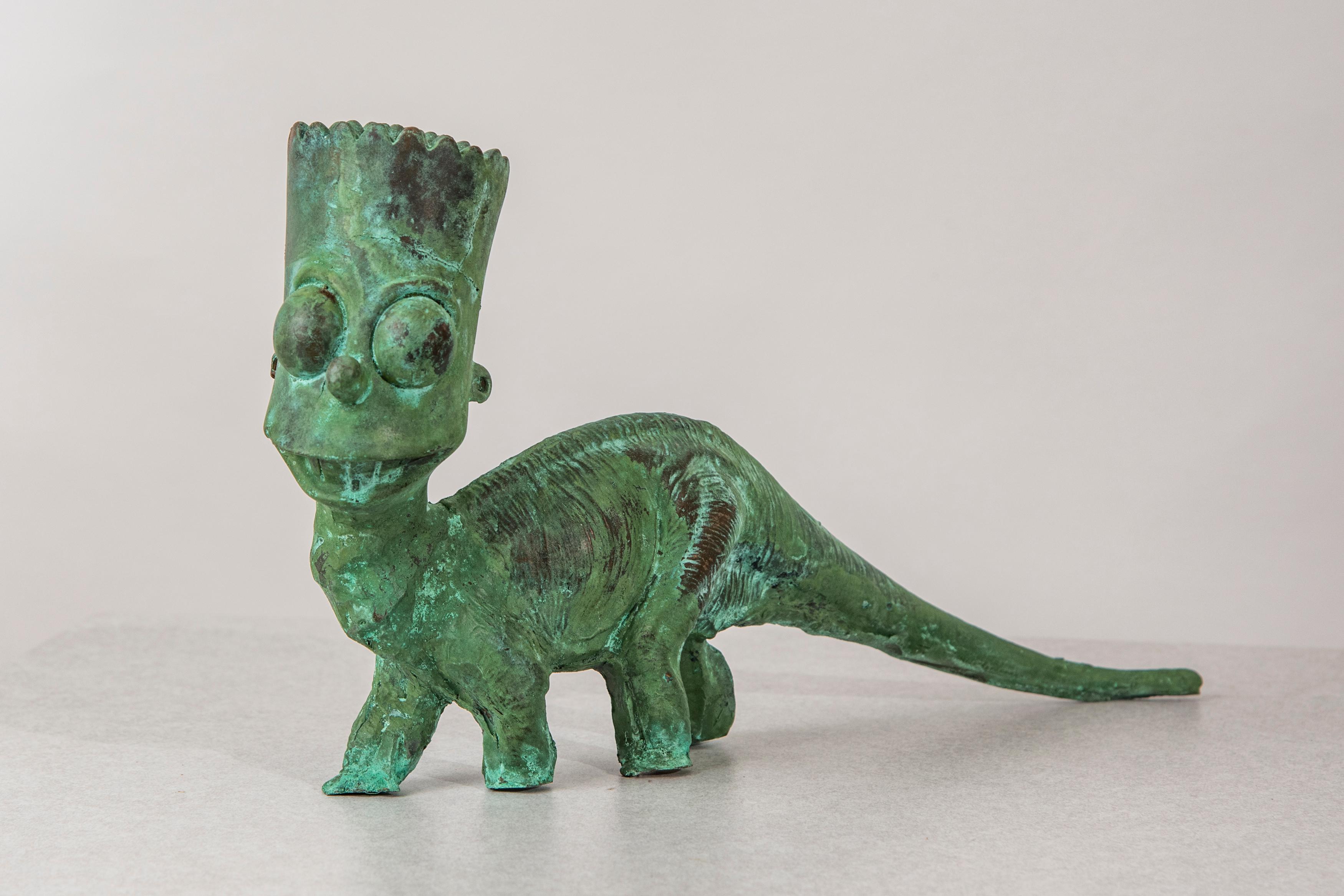 Bartosaurus II, 2019, by Joshua Goode, at Ivy Brown Gallery