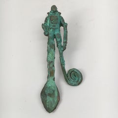 Bronze Sculpture: 'Rhoman Ceremonial Lovers' Spoon II'