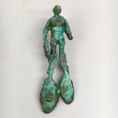 Bronze Sculpture: ' Rhoman Ceremonial Lovers' Spoon III'