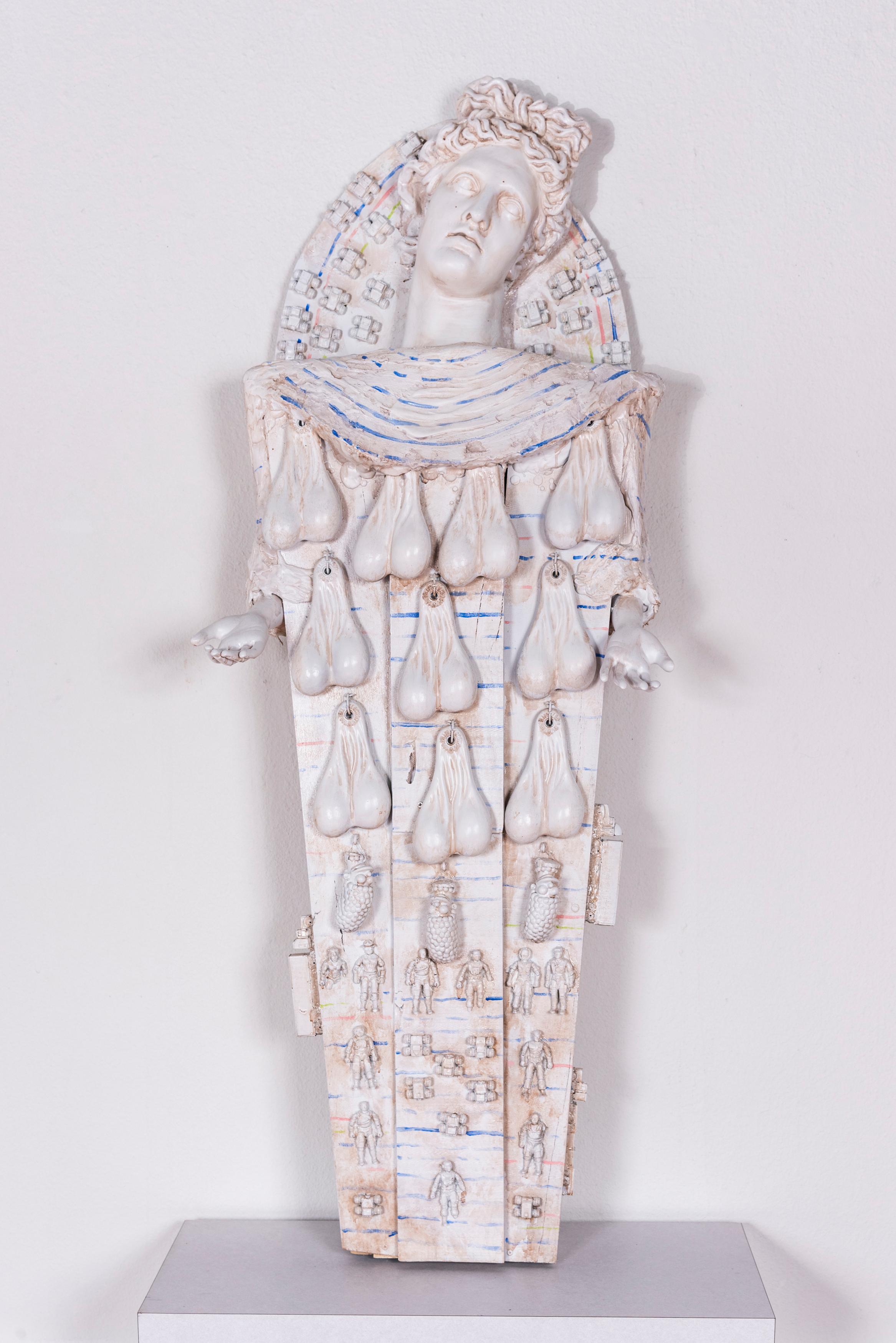 Contemporary Mummy, Large Sculpture: 'Rhoman Artemis'