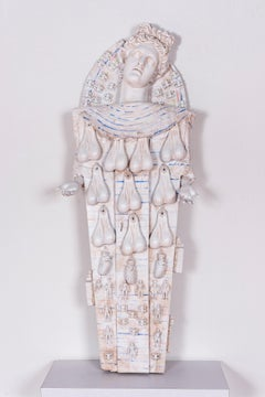 Contemporary Mummy, Large Sculpture: 'Rhoman Artemis'