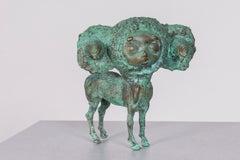 Pop Culture, Bronze Sculpture: 'The Chupacabra'