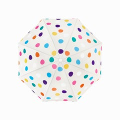 Polka Dot Beach Umbrella