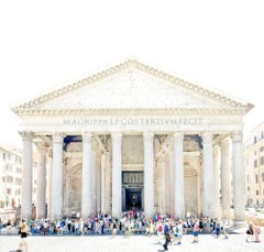 Remembering The Pantheon, Joshua Jensen-Nagle, Archival Inkjet Print