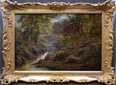 Betws-y-Coed, North Wales - 19th Century Oil Painting of Snowdonia