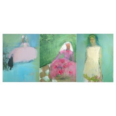 Josie Frances Hadley Collection of 3 Contempoary Paintings