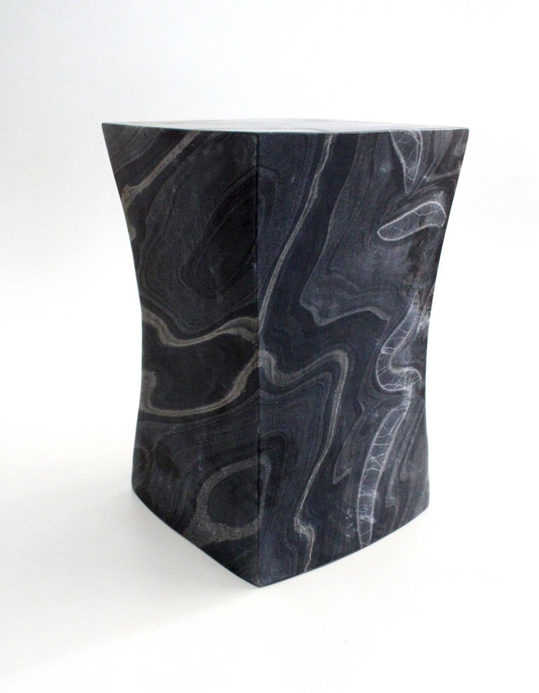 Indian Jour Block Table by Paul Mathieu for Stephanie Odegard For Sale