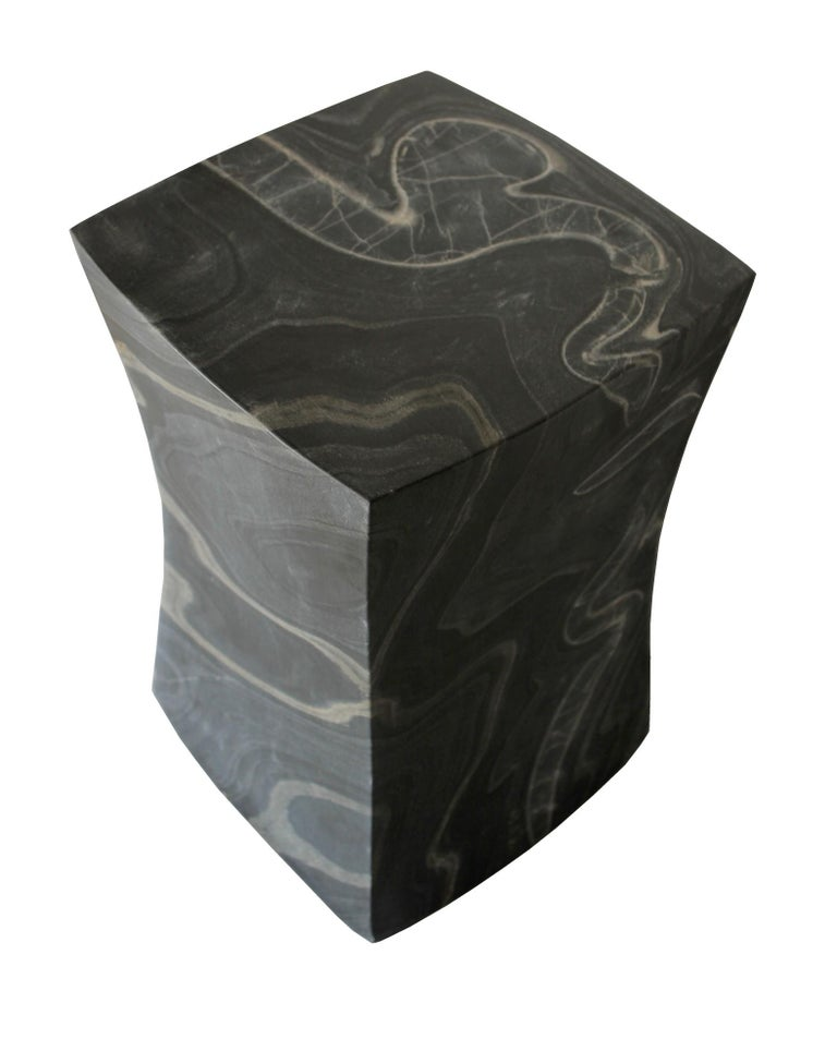 Contemporary Jour Block Table by Paul Mathieu for Stephanie Odegard For Sale