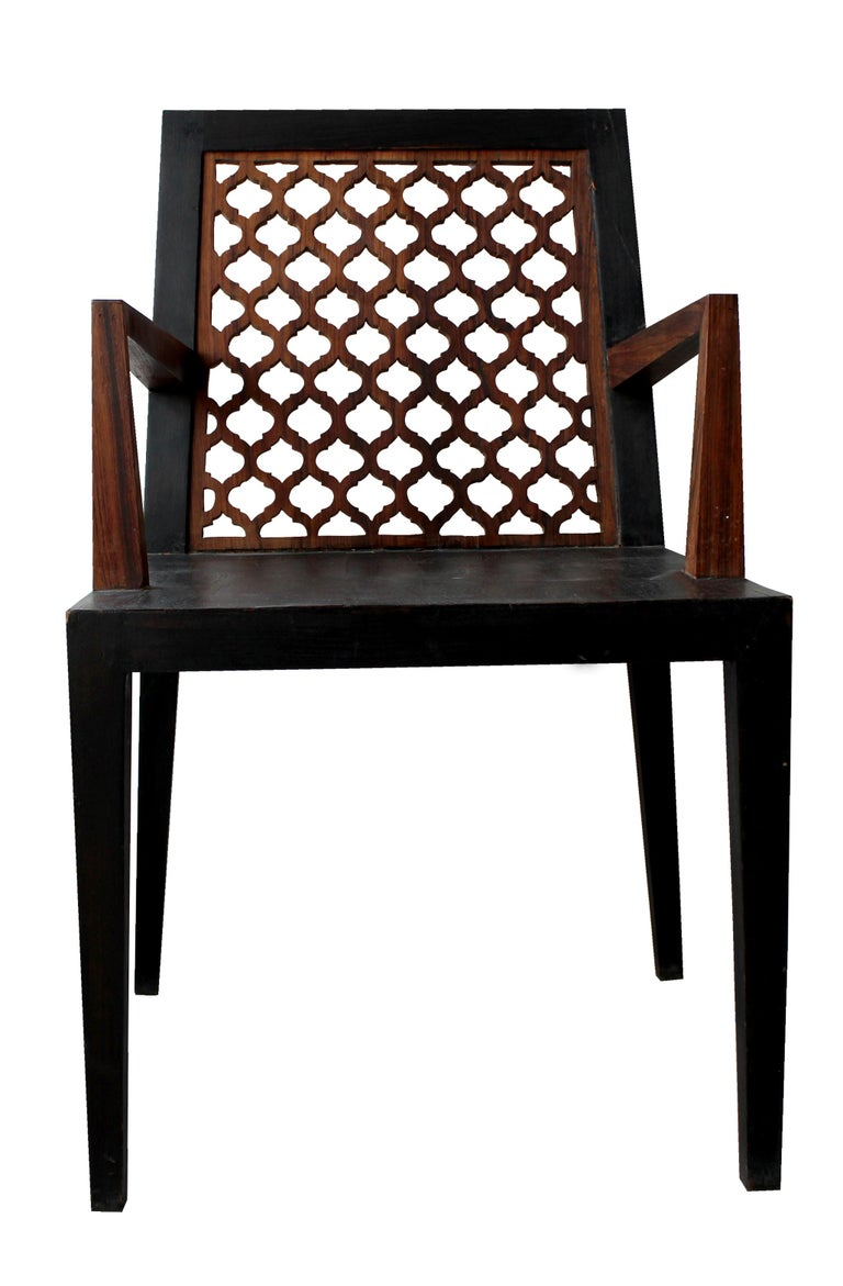 Other Jour Jali Back Chair by Paul Mathieu for Stephanie Odegard For Sale