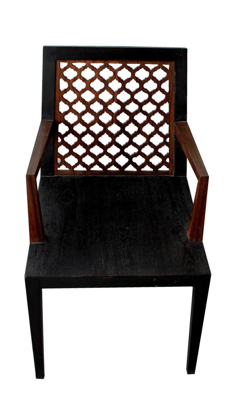 American Jour Jali Back Chair by Paul Mathieu for Stephanie Odegard For Sale